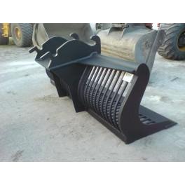 Puinbak 222cm CW30 12 tot 16 ton